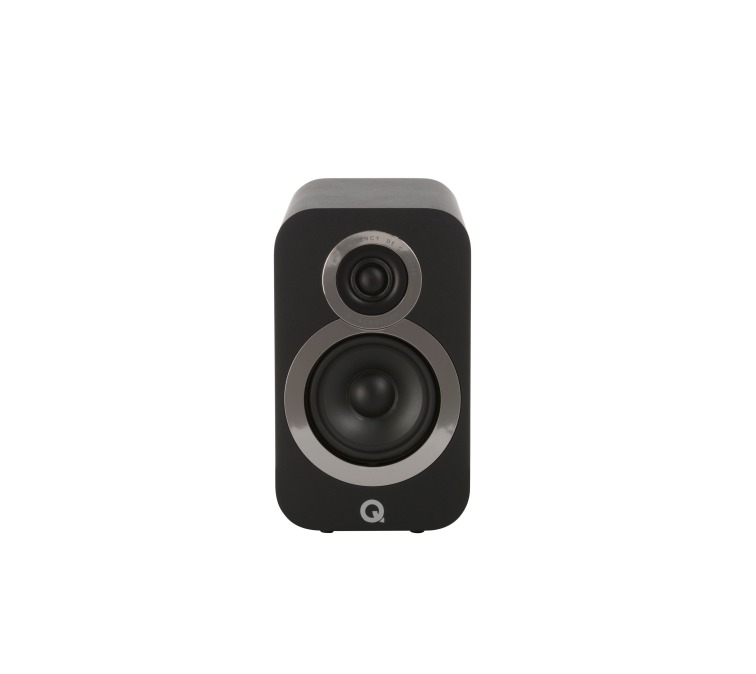 Q Acoustics 3010i black straight